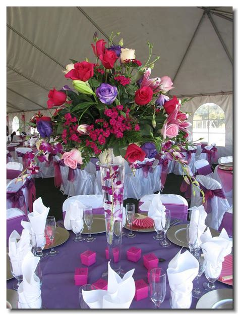 quinceanera table decoration ideas my favorite color is