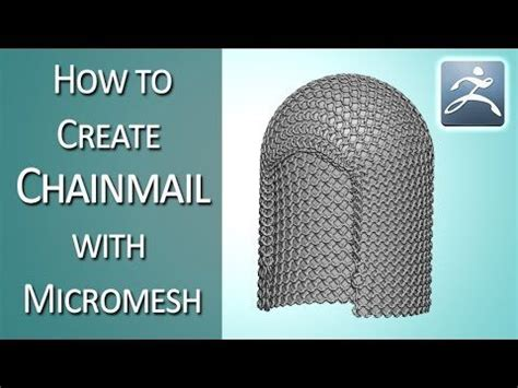 zbrush chainmail tutorial 40 best images about zbrush cloth on pinterest