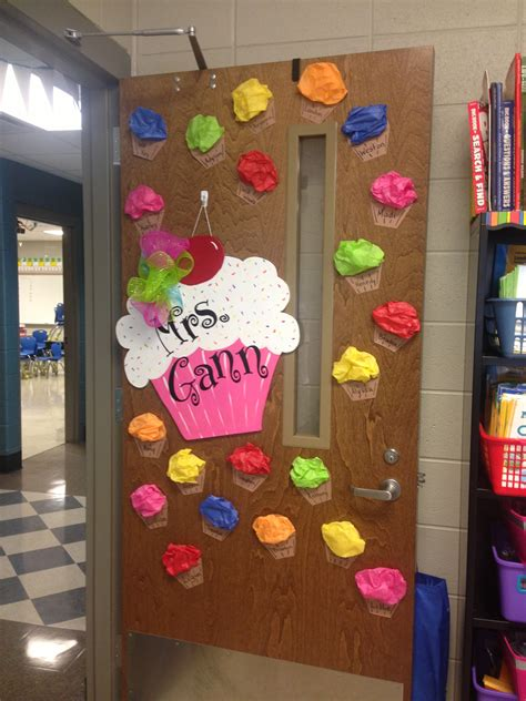 ideas for class cupcake door decor classroom doors