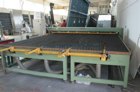 Equipment 401a by Bottero 401a Laminated Glass Cutting Table Glass