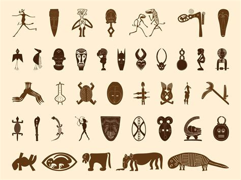 african tribal symbols tattoos symbols graphics př 237 prava eh