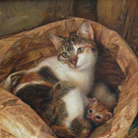 painting kitten kitten paintings antonio capel