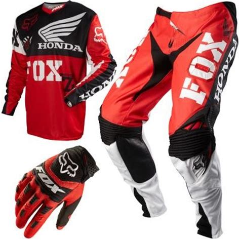 honda motocross gear fox racing 360 honda men s combo 257 85 mx gear