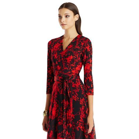 Fashion Diane Furstenberg Chiffon Wrap Dress by Lyst Diane Furstenberg Irina Silk And Chiffon Combo