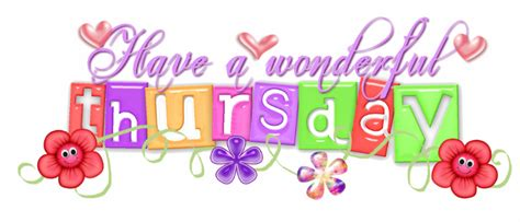 thursday clip thursday morning clipart