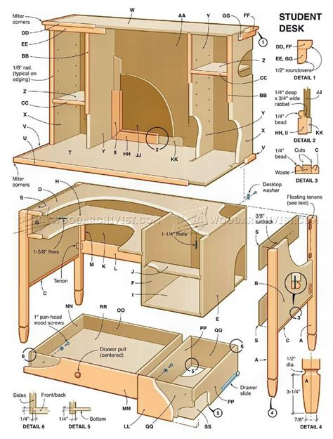 desk woodworking plans 2437 best images about wood crafts page 3 on