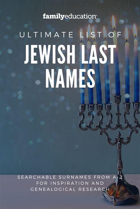 jewish  names names japanese  names genealogy