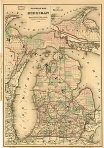 history of railroads in michigan