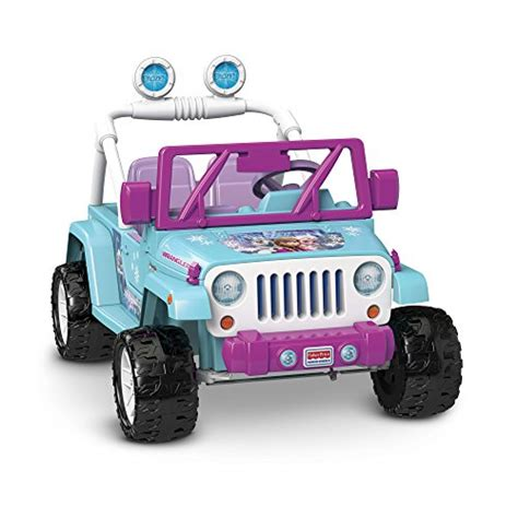 jeep baby blue power wheels disney frozen jeep wrangler toys games toys
