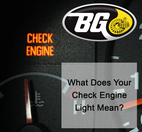 what check engine light means what does your check engine light bg services
