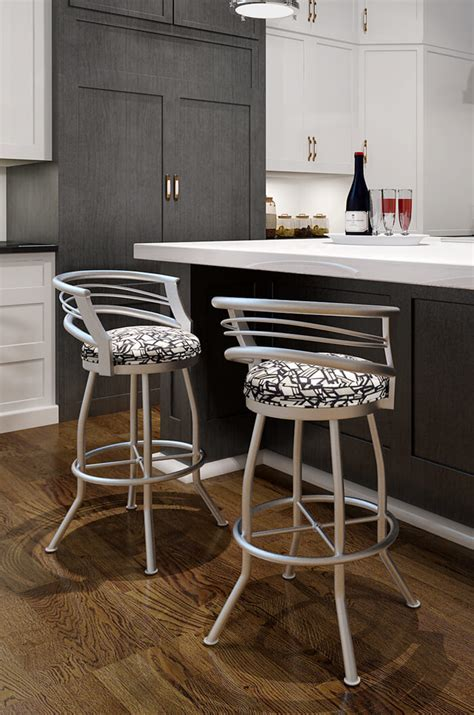 Grey Counter Stools With Backs by Gray Bar Stools With Backs Avianfarms