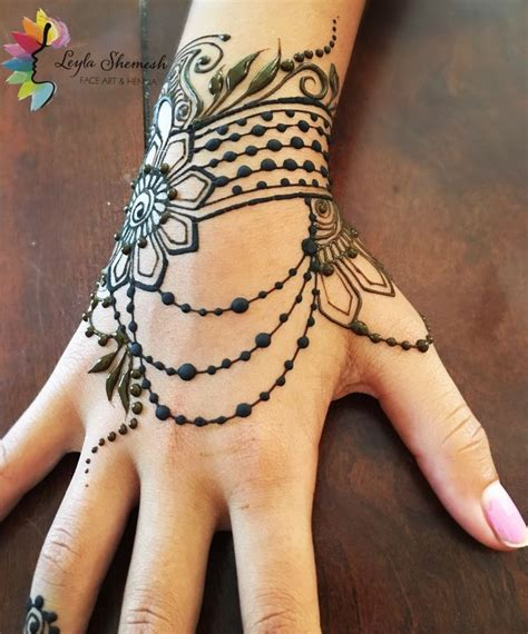 henna tattoos unique collection of 25 henna design