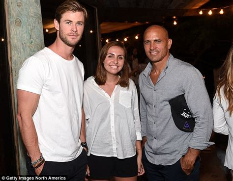 actor chris slater chris hemsworth joins forces with pro kelly slater as he