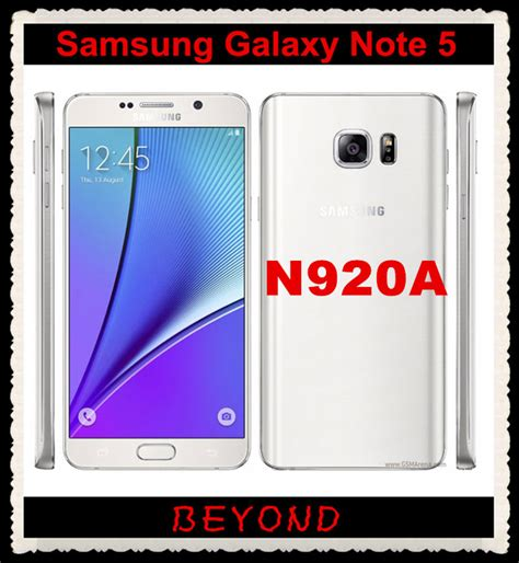 Forsale Samsung Galaxy Note 5 Ram 4gb Rom 32gb Fullset Ex Sein Id Dual aliexpress buy samsung galaxy note 5 n920a at t original unlocked 4g gsm android mobile