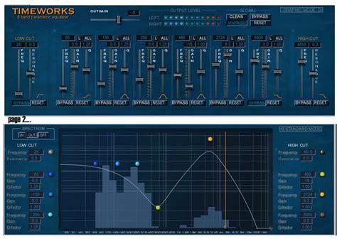 Equalizer Bell Up sonic timeworks equalizer v 1 classic eq now in vst and au formats