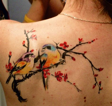 bird tattoos on back birds tattoos and designs page 222