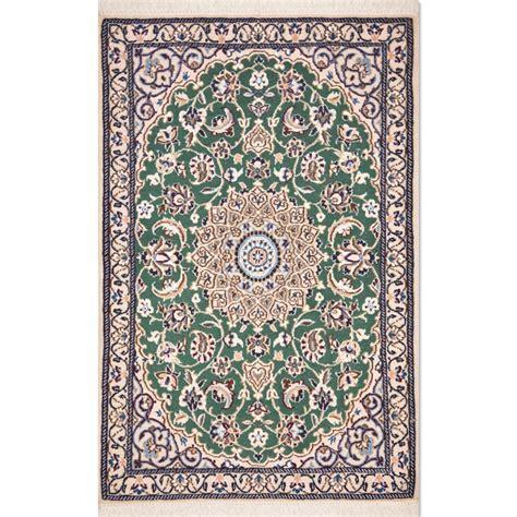 Size 002x3 Nain Wool Rug Iran Nain Rug
