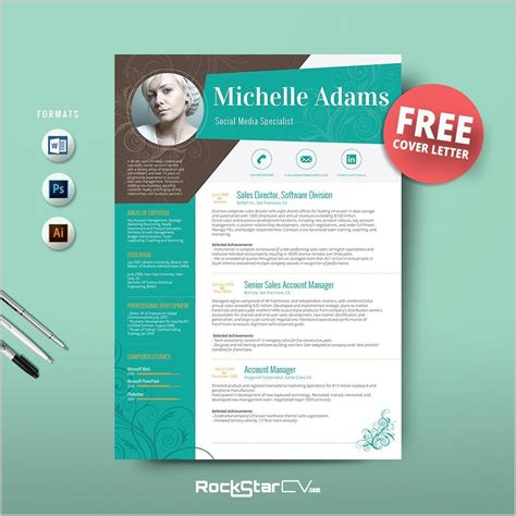 Attractive Resume Templates by Attractive Resume Templates Free Resume
