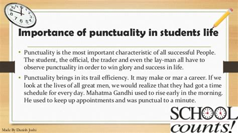 Essay Punctuality Key Success by Essay On Punctuality Leads To Success