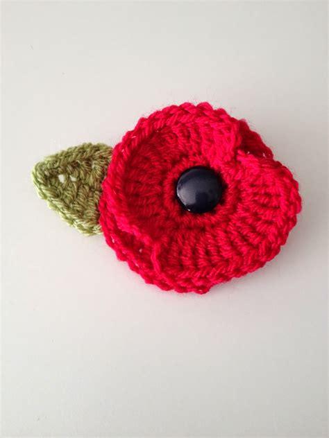 pattern to crochet a poppy eirawen crochet poppy
