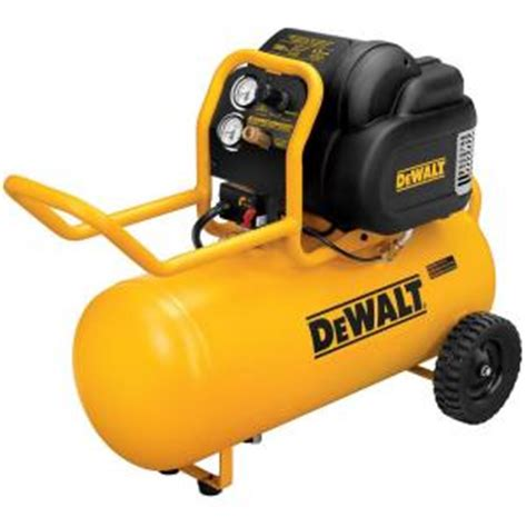 dewalt 15 gal 1 6 hp continuous 200 psi workshop air