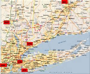 Map Connecticut New York by Process Nmr Associates Directions To Our Facilities