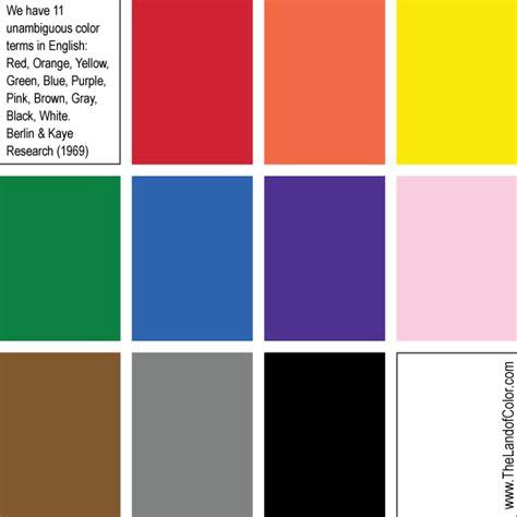 basic colors thelandofcolor