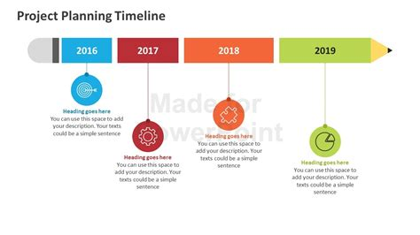 Project Planning Timeline Editable Powerpoint Template Project Plan Timeline Powerpoint Template