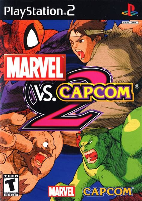 marvel vs capcom 2 marvel vs capcom 2 box for playstation 2 gamefaqs