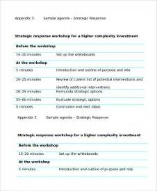 workshop template word workshop agenda template 6 free word pdf documents