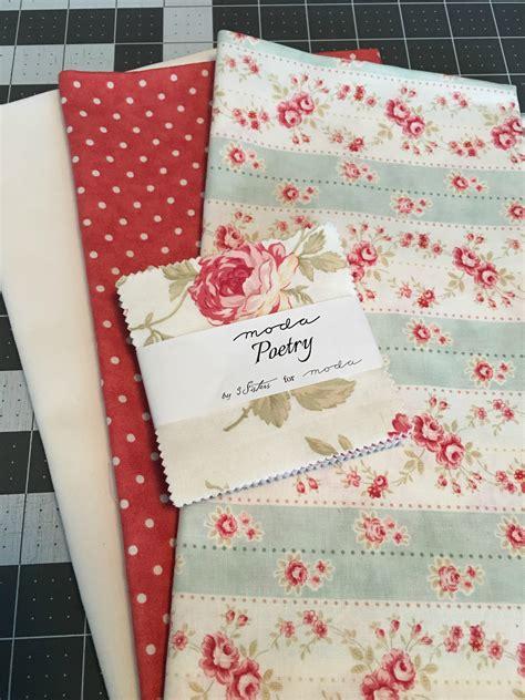 Poetic Patchwork - patchwork pillow moda bake shop bloglovin