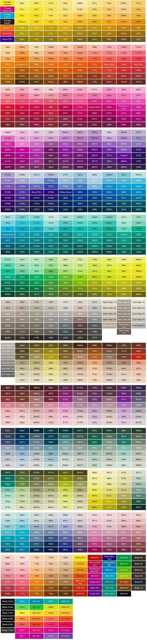 pantone palette best 25 pms color chart ideas on pinterest pms colour