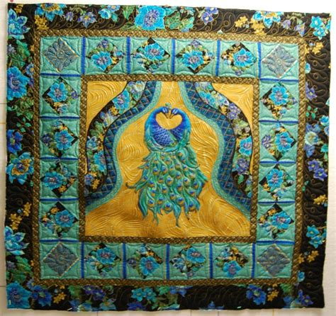 Peacock Quilts by Pat S Peacock Quilt Products I