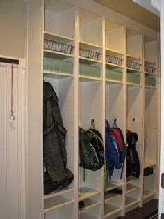 make your own mud room lockers the polkadot chair ikea billy bookcase mudroom lockers leanne smetaniuk