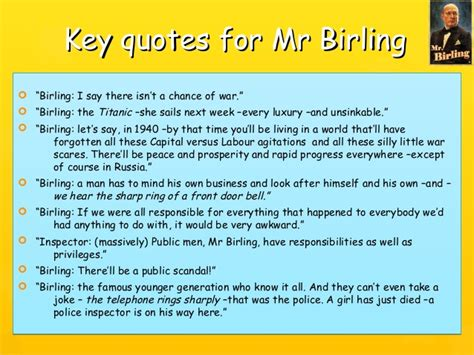 an inspector calls power theme quotes mr birling knighthood quotes image quotes at relatably com