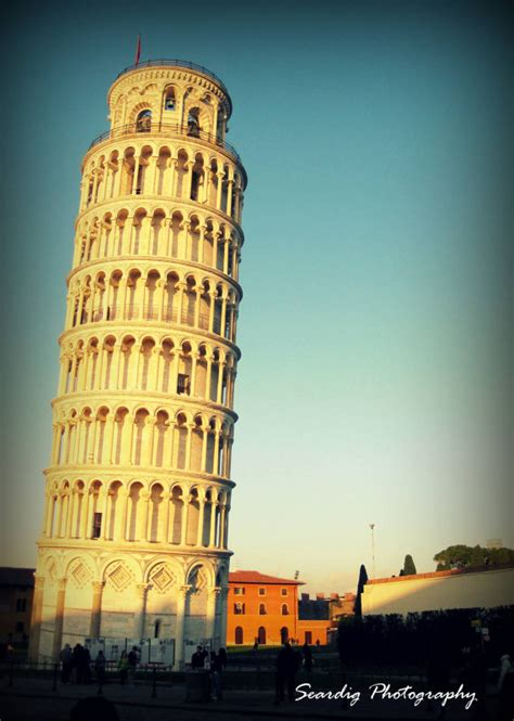 Italian Architecture Photograph | leaning tower of pisa italy architecture photograph