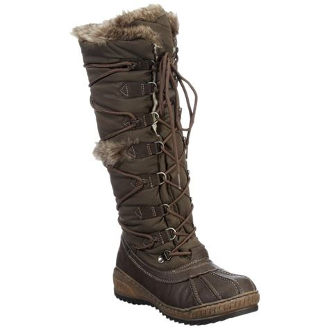 womens snow boots knee high