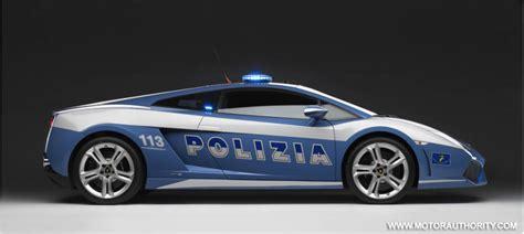 Lamborghini Italian Italian Crash Lamborghini Gallardo Patrol Car