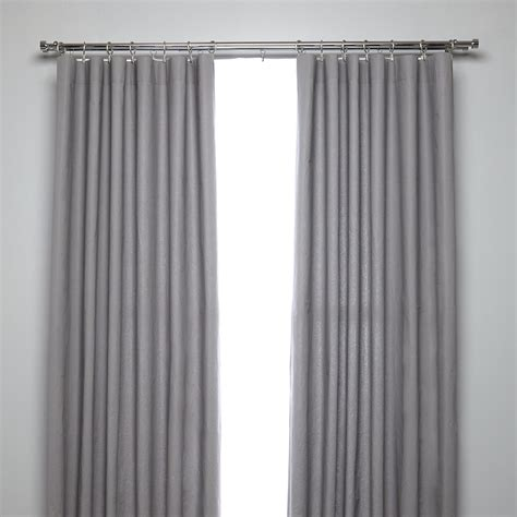 curtains pole buy umbra cappa double curtain pole chrome amara