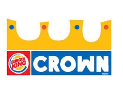 printable burger king crown freebie free burger king kids hamburger meal more bk