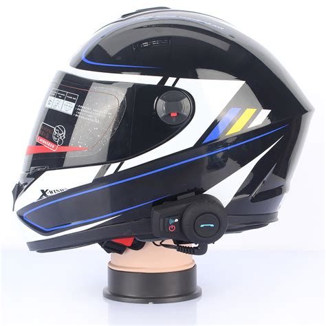 bluetooth motocross helmet excelvan 2x bt bluetooth motorcycle helmet interphone