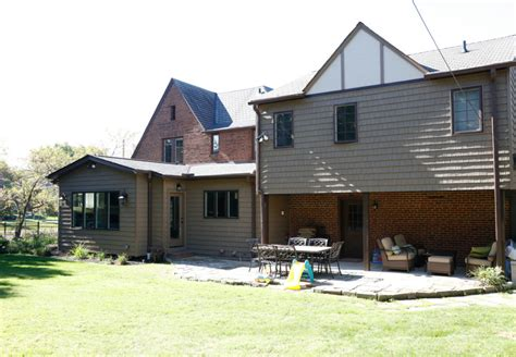 classic tudor open flow transformation dover home remodelers