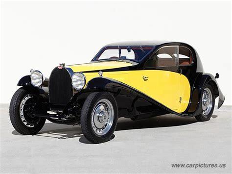 Vintage Car Types by 1930 Bugatti 1930 Bugatti Type 46 Profile Coupe