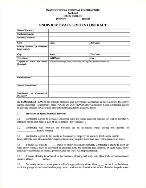 contract for safety template sletemplatess