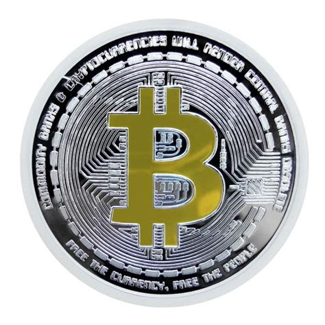 Elgin Platinum 999 5 Plated 1oz silver bitcoin bullion 24k gold gilded