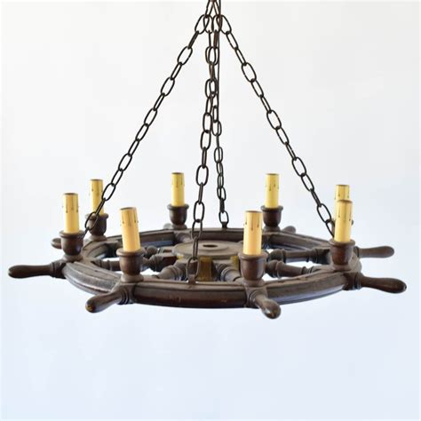 Ships Wheel Chandelier ship wheel chandelier the big chandelier