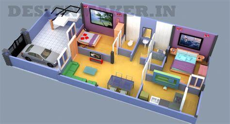 20 by 50 home design interior designer 20 50 3d floor plan