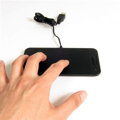 Touchpad Usb usb multi touch pad from thanko is a magic trackpad for windows 7