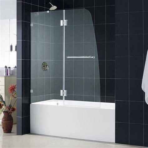 dreamline bathtub doors dreamline shdr 3348588 0 aqualux inch bathtub shower door