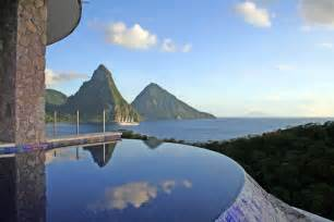 jade mountain st lucia where all rooms have infinity
